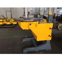 Best Gear Tilt Pipe Welding Positioners 1200mm Table Diameter Rolling Speed Adjusted by VFD wholesale