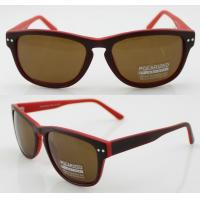 Best Vintage Full Frame Oval Polarized Sunglasses With CR39 Lens wholesale