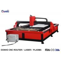 Best Red Color Plasma Metal Cutting Machine with 2000 mm x 3000 mm Working Size wholesale