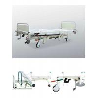 Best Adjustable Hydraulic Hospital Beds , Mobile Ward Beds For Emergency Care wholesale
