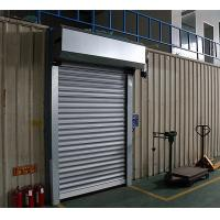 China Durable Curtain Automatic Roller Door / Roll Up Garage Door With CE on sale