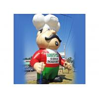 China Chef Shape Inflatable Cartoon Props For Gourmet Festival 1 Year Warranty on sale