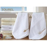 Best 100% Cotton White Hotel Hand Towel 80 x 160 wholesale