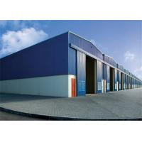 Best Modern Steel Frame Storage Buildings Non Combustible 50mm -150mm Thickness wholesale