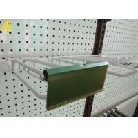 Best Durable Steel Heavy Duty Pegboard Hooks With PVC Price Holder White Color wholesale