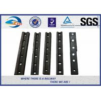 Best Customized Casting Steel Railway Fish Plate / Rail Joint Bars With BS ASTM Standard wholesale
