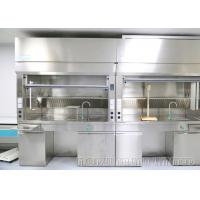 Stainless Steel Material Ductless Fume Hood Preventing Inhalation Of Hazardous Vapors