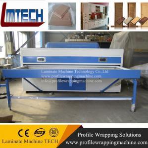 China pvc door vacuum membrane press machine on sale