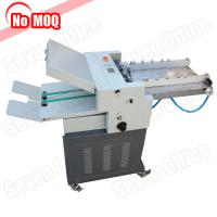 China 3 Years warranty air suction electric automatic paper folding machine factory price on sale