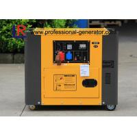 China 4.5kw Portable Diesel Generator / Electric Generator 7.8H Continuous Running Time on sale
