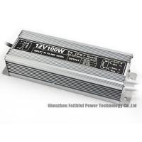 Best Friendly Design 12vdc 100w Power Supply Outdoor Output Low Ripple / Noise wholesale