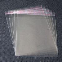 Best Clear Gift Bags with Self Adhesive Seal and Slip Cover in 8 x 13cm Size, Made of BOPP/OPP wholesale