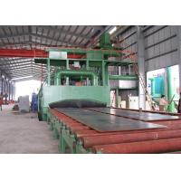 Best Steel Structure Roller Conveyor Shot Blasting Machine Rust Removing ISO9001 wholesale