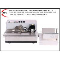 China Stainless Steel Ink Coding Machine , Date Coding Machine For Paper Plastic Bag on sale