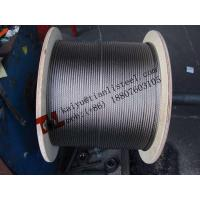 Best 316 A4 1.4401 7x19 4mm Stainless Steel Wire Rope Weight 64 kg/1000m wholesale