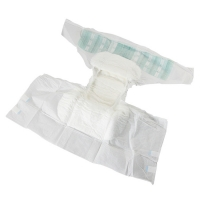 China Embroidered Super Soft XL Adult Panty Diaper on sale