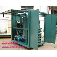 China Weather-Proof (Enclosed Type) Vacuum Dielectric Oil Filtering Unit | Transformer Oil Purification Machine on sale