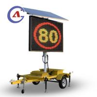 China Customized Outdoor VMS (Variable Message Sign) LED Traffic Signboard on sale