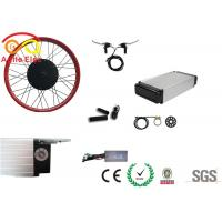 Buy cheap 500 Watt Fat Tire Electric Bike Conversion Kit With Rear Rack Type Battery product