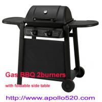 China Powder Coated Portable Grill 2 burner on sale