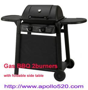 Best Powder Coated Portable Grill 2 burner wholesale
