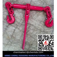 China European type ratchet load binder with safty pin,EN12195-3 on sale