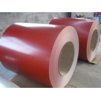Buy cheap Good price!!! Ral 3005 red color prime quality ppgl steel sheet for roofing product