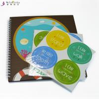 Best Professional Baby Memory Books Record First Year Envelope Baby Feet Hand Ink wholesale
