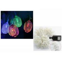 Best Xmas LED String Lights Fairy Lamps 110 Voltage White / Warm White 6 Meters wholesale