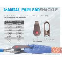 Best Mandal fairlead shackle,Marine mooring shackle, Marine mooring shackle for wire rope and fiber rope wholesale