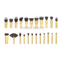China Private Label Cosmetic Brushes Eyeliner Eye Brow Foundation Powder Liquid Cream 23 Pieces on sale
