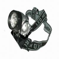Best Camping Head Lamp, 3 x AAA Batteries wholesale