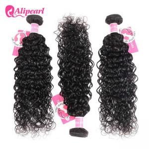Best 8A Quality Virgin Brazilian Human Hair Bundles Water Wave No Oiled Gloosy wholesale
