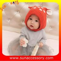 Best AK17022 Sun Accessory customized wholesale baby kids knitted beanie caps and hats  ,caps in stock MOQ only 3 pcs wholesale