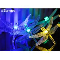 China Dragonfly Decorative Indoor Outdoor String Lights 20 Led Remote Controller on sale