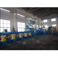 Best 500 Kg/H Capacity Waste Tyre Recycling Machine For Crumb Rubber / Tyre Crushin wholesale