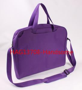 Best Purple color briefcase promotion shoulder bags-HAG13708 wholesale