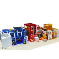 Best Police Station Series Indoor Playground Equipment To Bring Kids Happiness Health And Wisdom wholesale