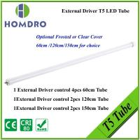CE RoHS Tri-proof t5 led tube 18w frosted or clear cover for choice,resonable price