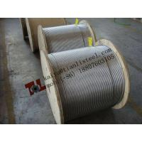 Best 1.4401 1x19 6mm Stainless Steel Wire Rope Net Weight 180 kgs per 1000m wholesale
