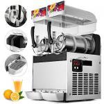 Best Double Bowls Fruit Juice Frozen Slush Machine , Frozen Margarita Machine wholesale