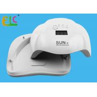 Best SUN X 54W Gel Curing Machine UV LED Nail Gel Polish Curing Lamp with Bottom 30s / 60s Timer LCD Display Lamp wholesale
