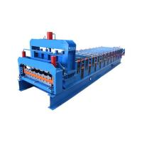 China 3kw Color Glazed Roofing Step Tile Forming Machine on sale