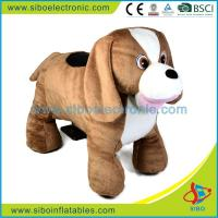 Best Guangdong Stuffed Toys Plush Walking Animals Coin Operated Car Kids Rides wholesale