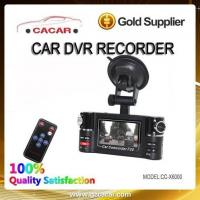 China Hot sale HD car dual camera car camcorder with IR night vision on sale
