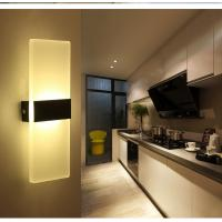 Best Square Acrylic LED wall lighting /inside led wall lamps for bedroom or sitting room wholesale