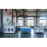 China Single Wall Plastic Extrusion Lines , PVC Corrugated Pipe Extrusion Line Corrugated Pipe Machine on sale