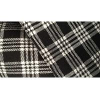 Best Silk Bamboo Fiber Cloth Plaid Jacquard Knit Fabric For Kids Clothes / Baby Wear wholesale