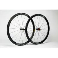 Cheap 38mm Carbon Clincher Wheelset For UD Road Bike , Shimano Carbon Speed Cycle Wheels for sale