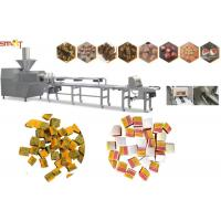 Best Intelligent Dog Chewing Food Extruder Machine 100kg/Hr Pet Food Extruder wholesale